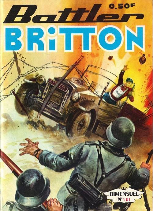 Couverture de Battler Britton -181- Escadrille internationale - une belle promenade