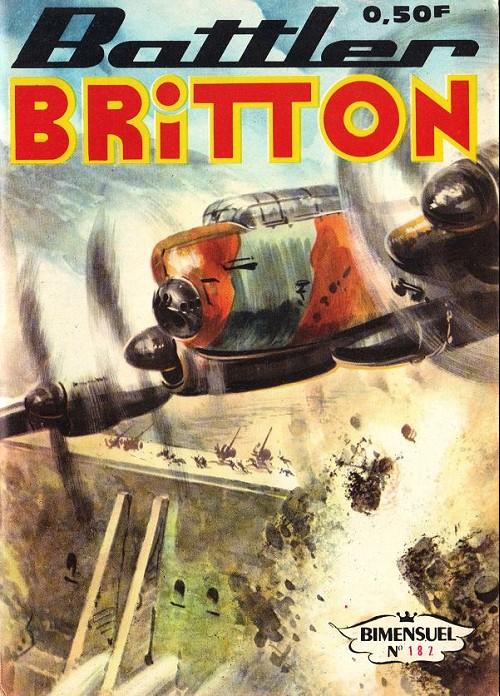 Couverture de Battler Britton (Imperia) -182- L'ami des bêtes - le drapeau blanc