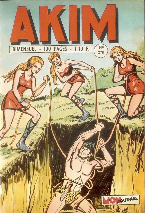 Couverture de Akim (1re série) -276- Le royaume des guerrières