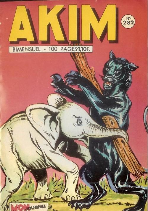 Couverture de Akim (1re série) -282- La main de feu