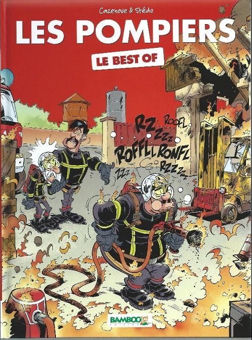 Couverture de Les pompiers -HS5- Le best of