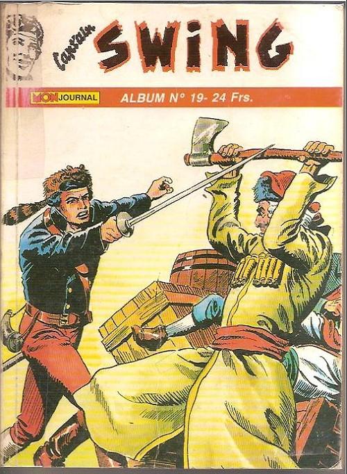 Couverture de Capt'ain Swing! (2e série - Mon Journal) -Rec19- Album N°19 (du n°55 au n°57)