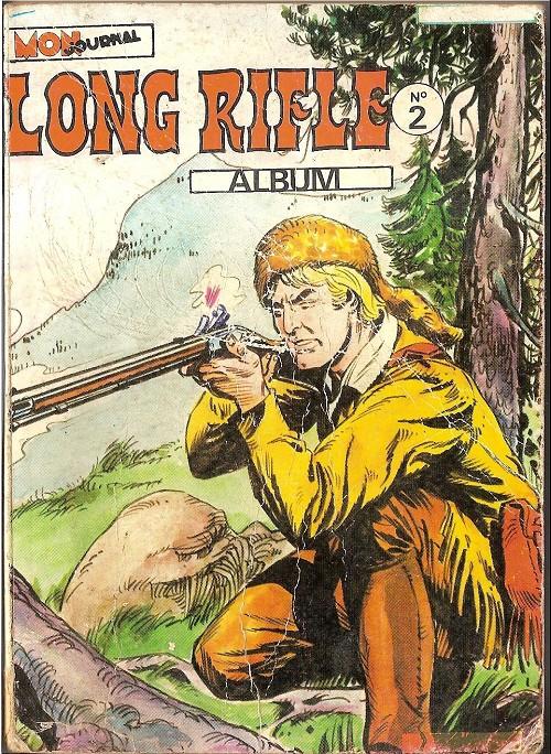 Couverture de Long Rifle -Rec02- Album N°2 (du n°4 au n°6)