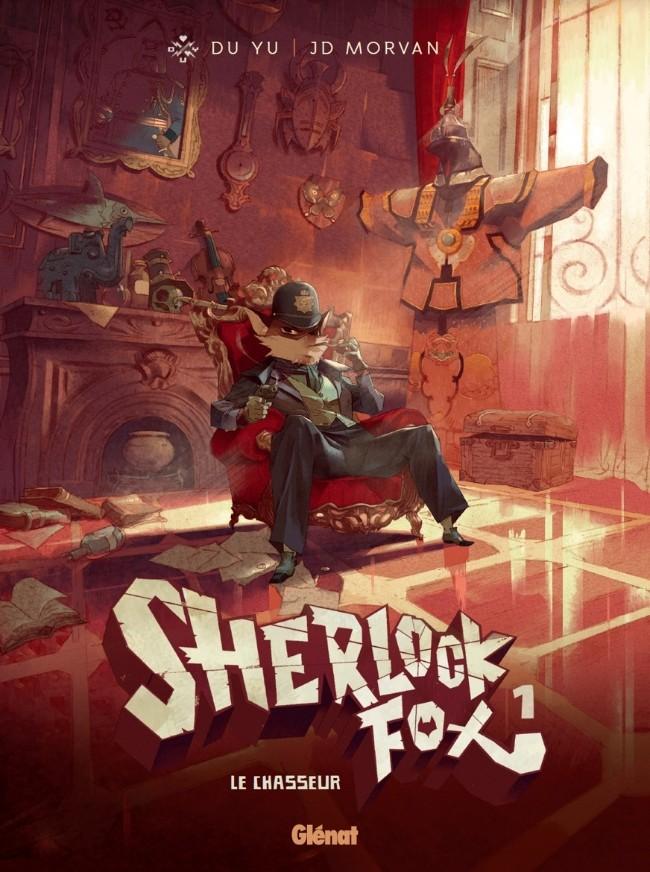 Couverture de Sherlock Fox -1- Le chasseur