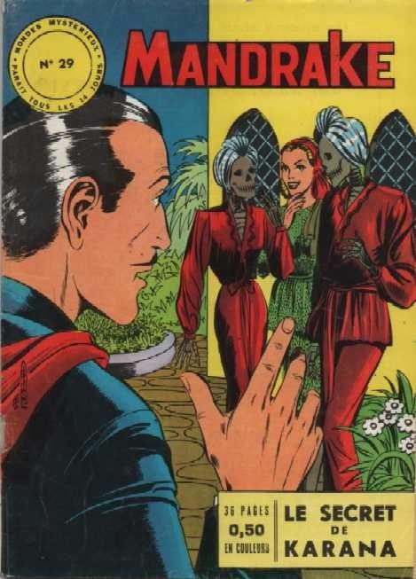 Couverture de Mandrake (1e Série - Remparts) (Mondes Mystérieux - 1) -29- Le secret de Karana
