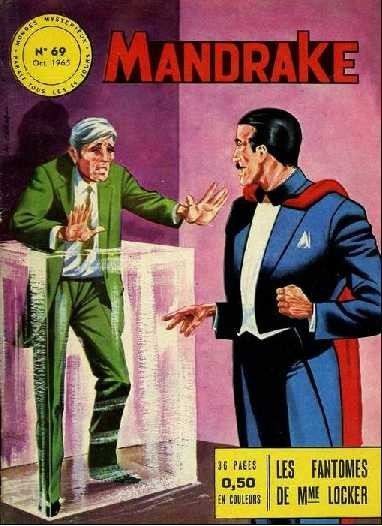 Couverture de Mandrake (1e Série - Remparts) (Mondes Mystérieux - 1) -69- Les fantômes de Mme Locker