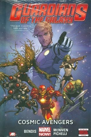Couverture de Guardians of the Galaxy (2013) -INT01- Cosmic Avengers