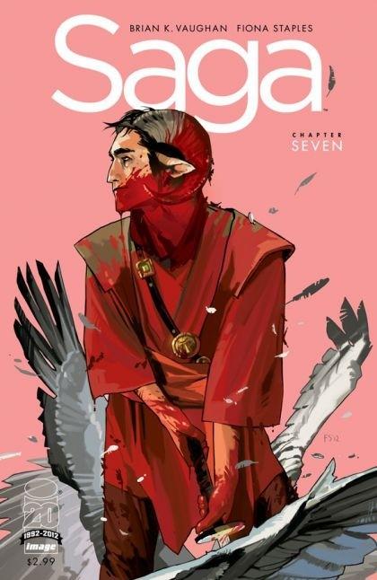 Couverture de Saga (Image comics - 2012) -7- Chapter seven