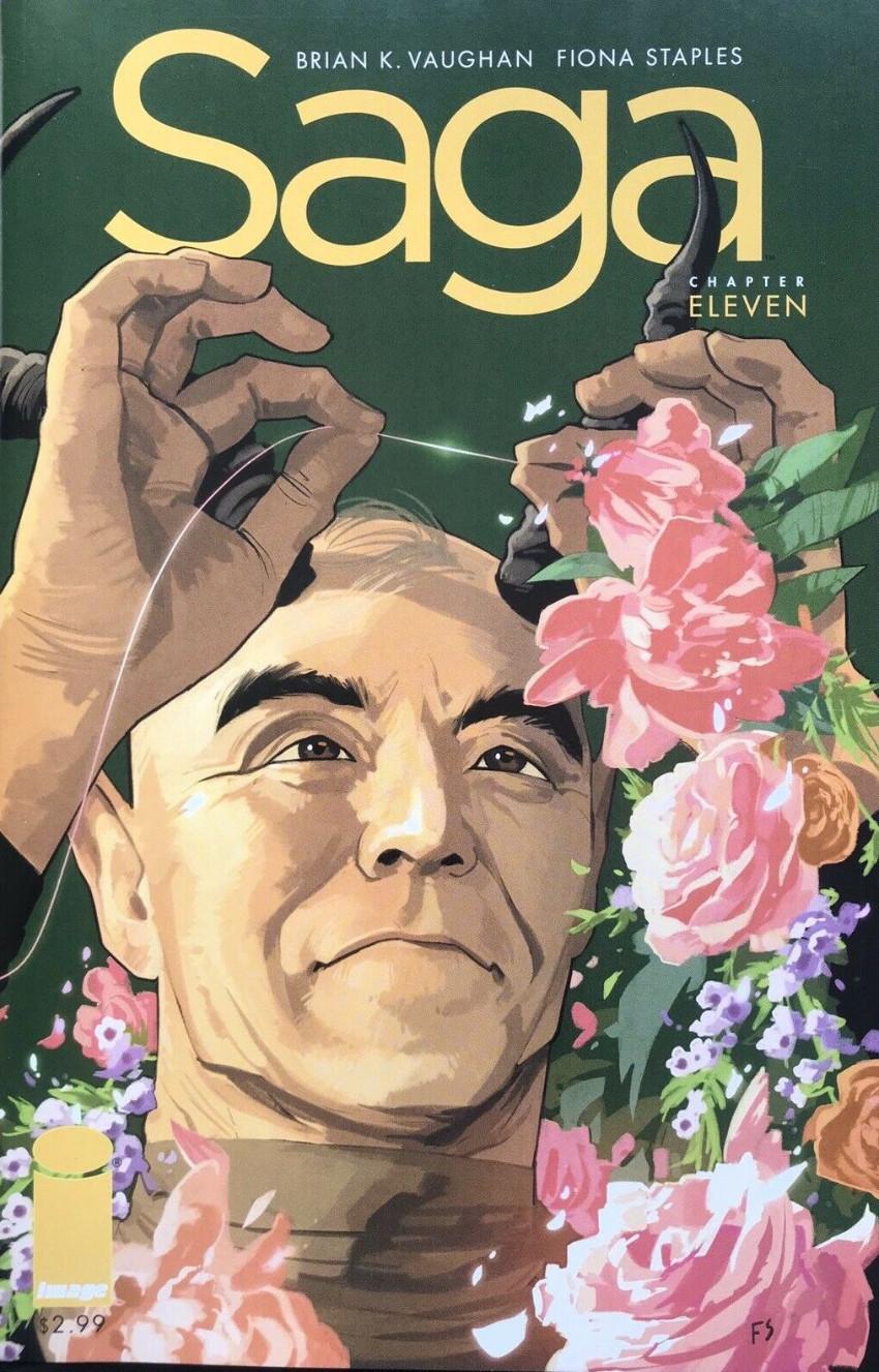 Couverture de Saga (Image comics - 2012) -11- Chapter eleven