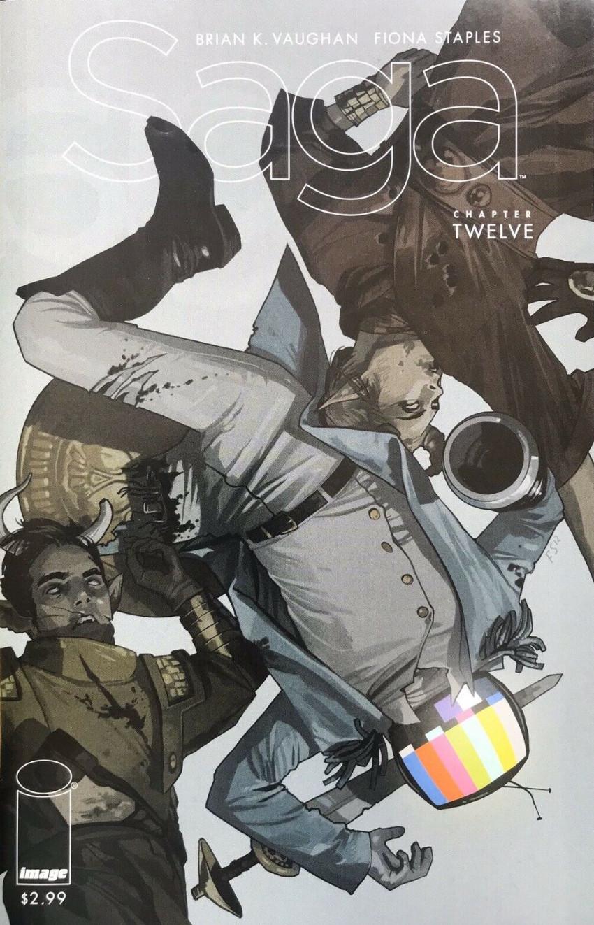 Couverture de Saga (Image comics - 2012) -12- Chapter twelve