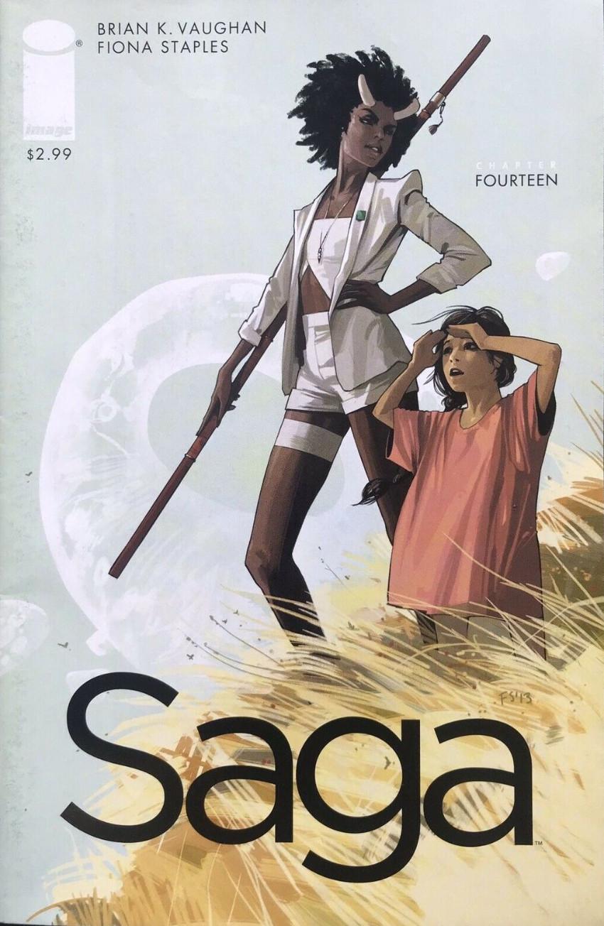 Couverture de Saga (Image comics - 2012) -14- Chapter fourteen