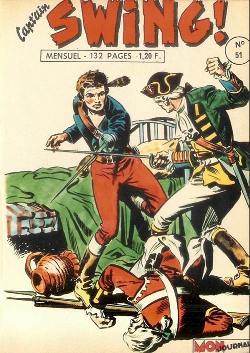 Couverture de Capt'ain Swing! (1re série) -51- Opération joker