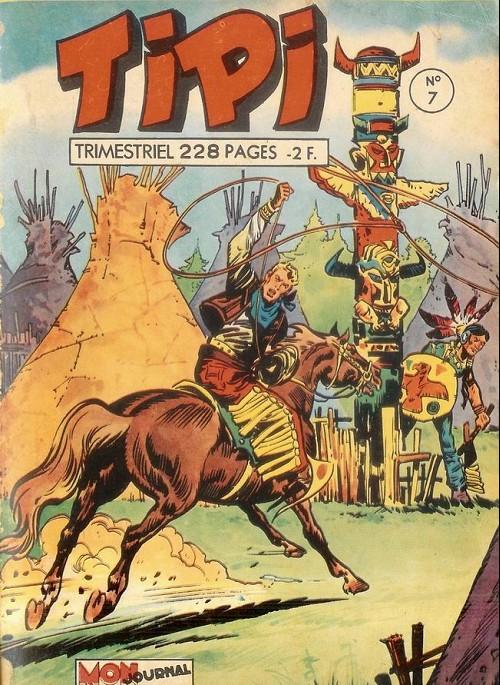 Couverture de Tipi -7- Pecos bill la vallée des démons