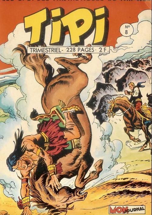 Couverture de Tipi -8- Pecos bill le trésor de gold-bug