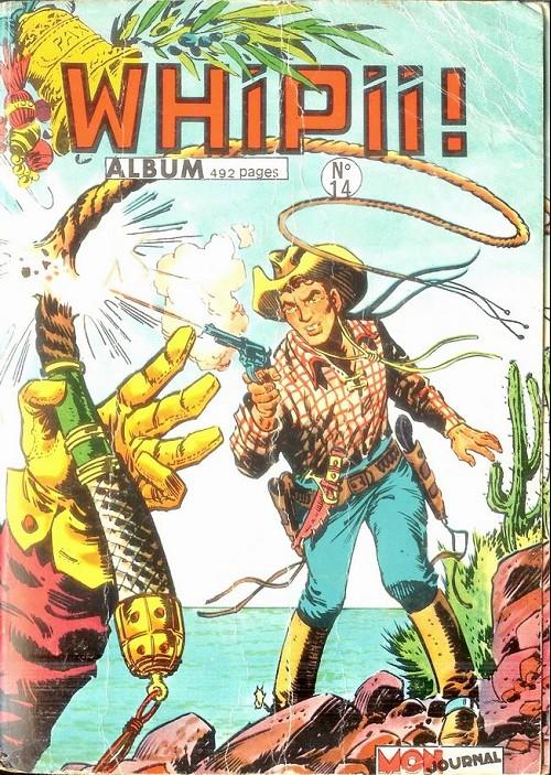 Couverture de Whipii ! (Panter Black, Whipee ! puis) -Rec14- Album N°14 (du n°38 au n°40)