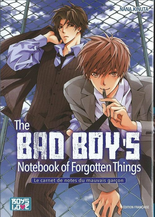 Couverture de Bad Boy's Notebook of Forgotten Things (The) - The Bad Boy's Notebook of Forgotten Things