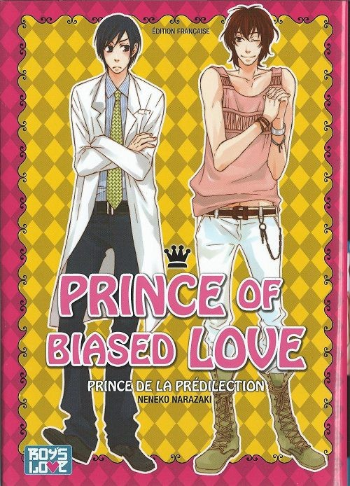 Couverture de Prince of Biased Love - Prince of biased love
