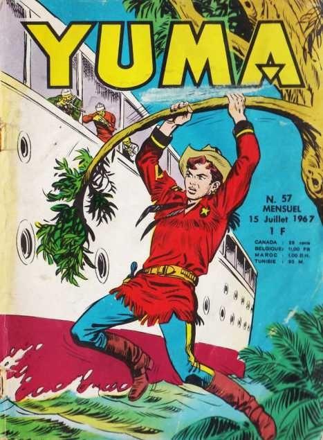Couverture de Yuma (1re série) -57- Les pirates du grand fleuve