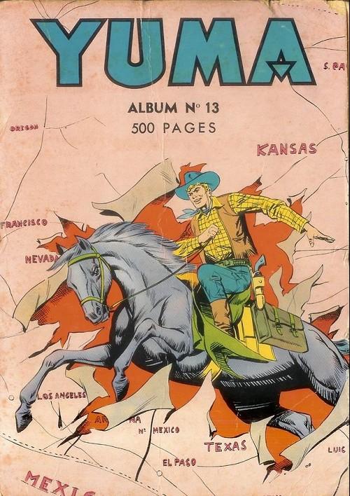 Couverture de Yuma (1re série) -Rec013- Album N°13 (du n°49 au n°52)