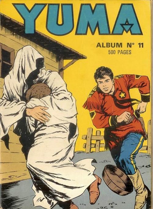 Couverture de Yuma (1re série) -Rec011- Album N°11 (du n°41 au n°44)