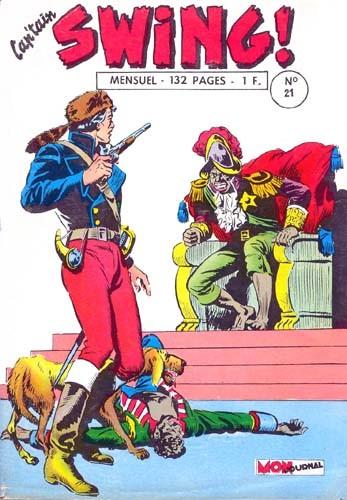 Couverture de Capt'ain Swing! (1re série) -21- Le lion d'Asuncion