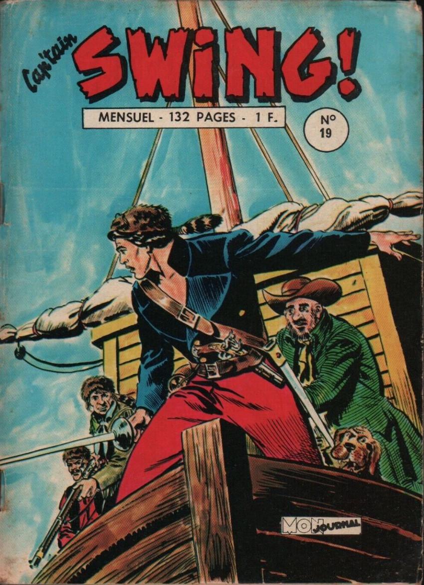 Couverture de Capt'ain Swing! (1re série) -19- L'Écossais du diable