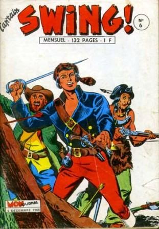 Couverture de Capt'ain Swing! (1re série) -6- Le grand Réginald