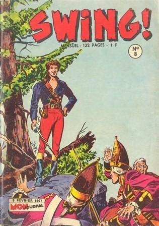 Couverture de Capt'ain Swing! (1re série) -8- Trahison à Fort Ontario