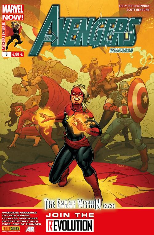 Couverture de Avengers Universe (1re série - 2013) -8- L'ennemi intime (2/3)