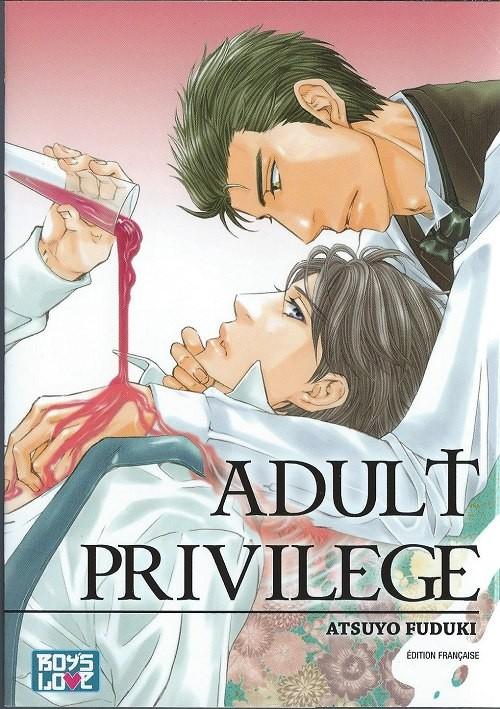 Couverture de Adult privilege