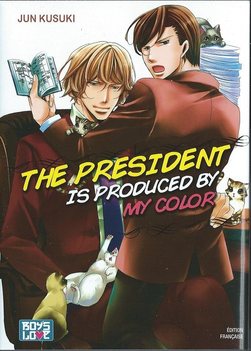 Couverture de President is produced by my color (The) - The president is produced by my color