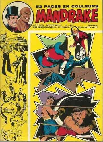 Couverture de Mandrake (1re Série - Remparts) (Mondes Mystérieux - 1) -425- Ouragan aux tropiques
