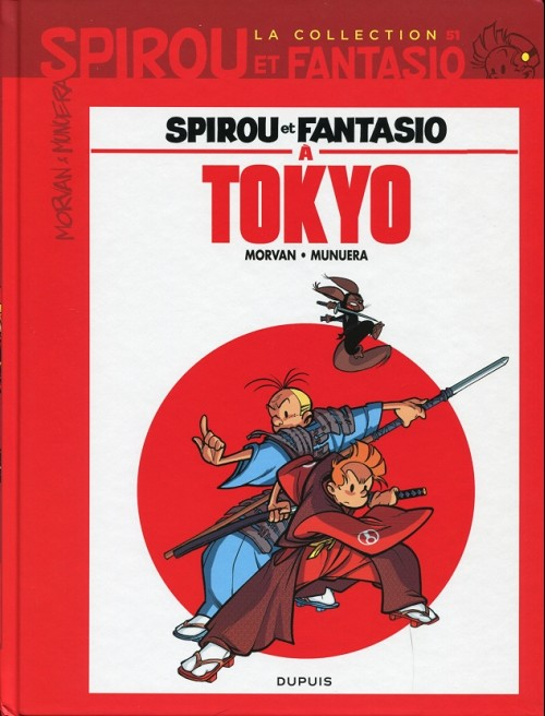Couverture de Spirou et Fantasio - La collection (Cobra) -51- Spirou et Fantasio à Tokyo