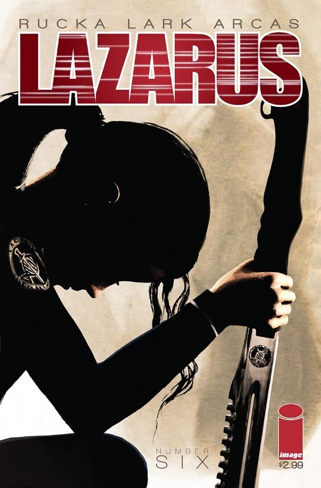 Couverture de Lazarus (2013) -6- Lift part two