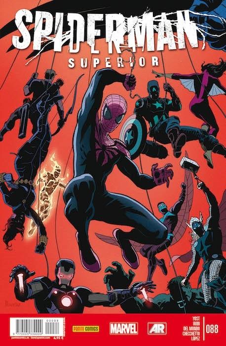 Couverture de Asombroso Spiderman -88- Rivalidad Fraternal