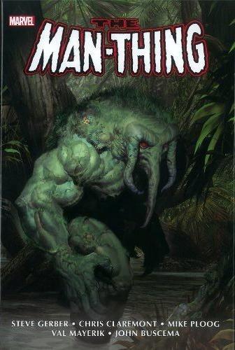 Couverture de Man-Thing Omnibus (The) (2012) -OMNI- Man-Thing Omnibus