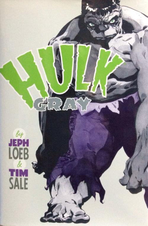 Couverture de Hulk: Gray (2003) -INT- Hulk: Gray
