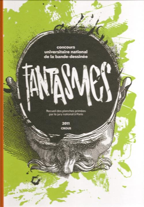 Couverture de Concours universitaire national de la bande dessinée -6- 2011 - Fantasmes