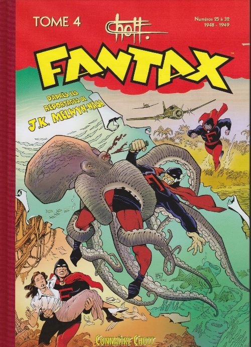 Couverture de Fantax (1re série) -INT4- Tome 4 (1948-1949)