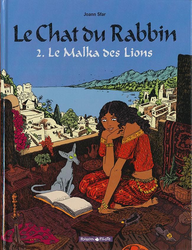 Couverture de Le chat du Rabbin -2- Le Malka des Lions