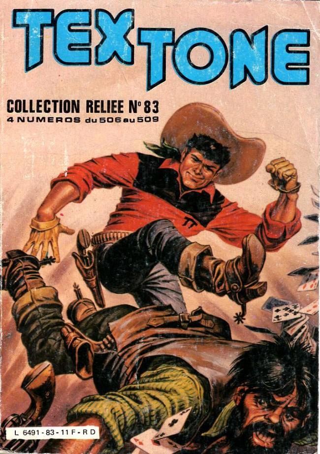 Couverture de Tex-Tone -Rec83- Collection reliée N°83 (du n°506 au n°509)