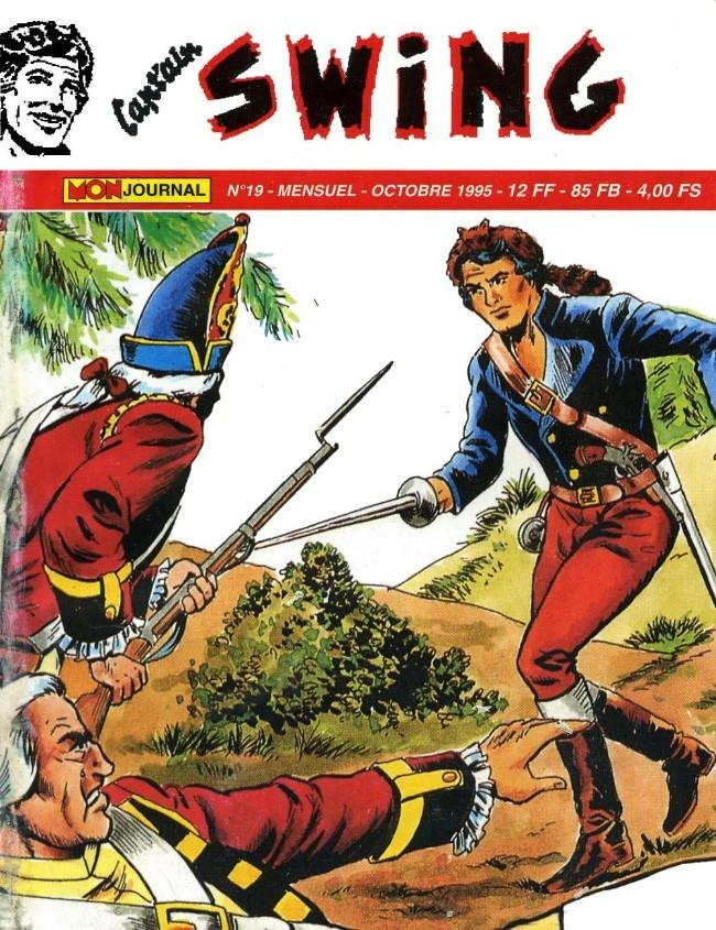 Couverture de Capt'ain Swing! (2e série - Mon Journal) -19- L'Écossais du diable