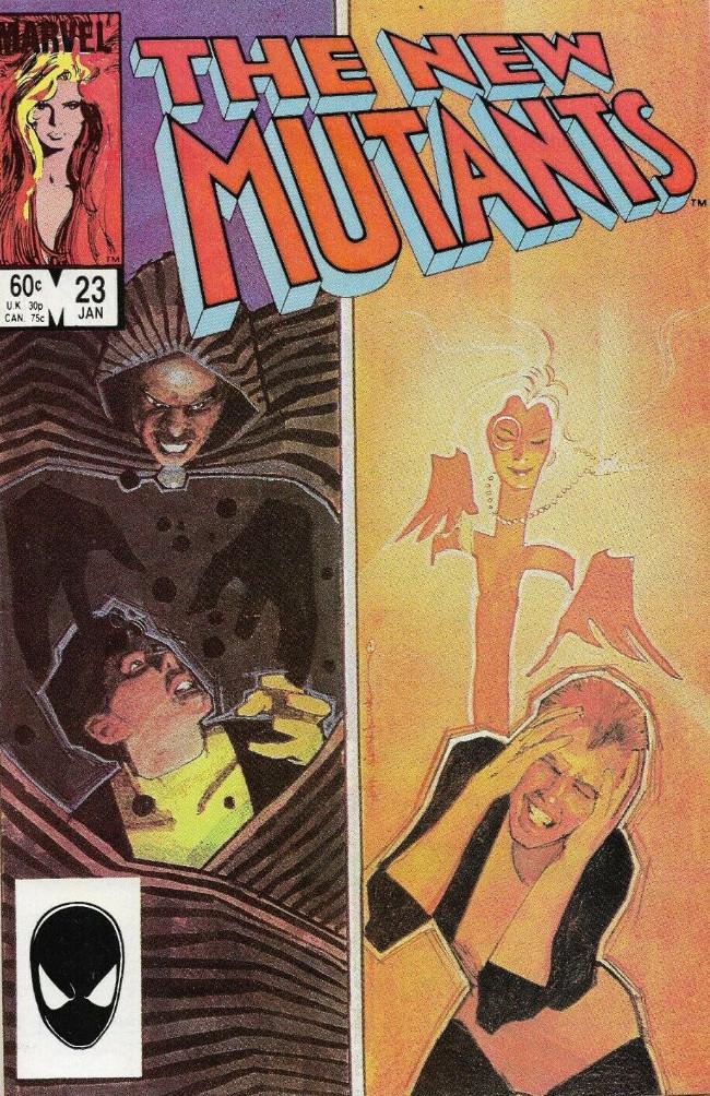 Couverture de New Mutants (The) (1983) -23- Shadowman