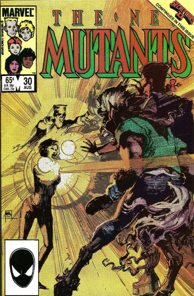 Couverture de New Mutants (The) (1983) -30- The Singer & Her Song
