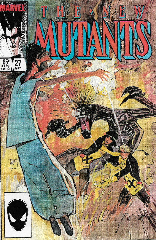 Couverture de New Mutants (The) (1983) -27- Into the Abyss