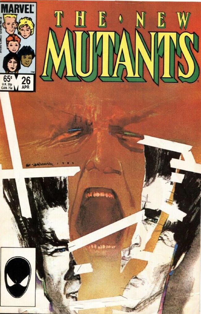 Couverture de New Mutants (The) (1983) -26- Legion