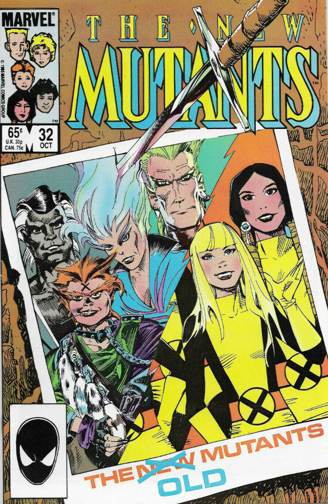 Couverture de New Mutants (The) (1983) -32- To the Ends of the Earth