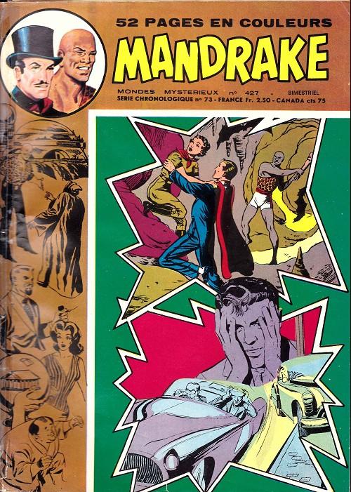 Couverture de Mandrake (1re Série - Remparts) (Mondes Mystérieux - 1) -427- Le pays de l'oubli