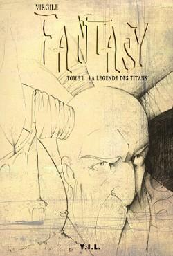 Couverture de Fantasy -1- La légende des Titans