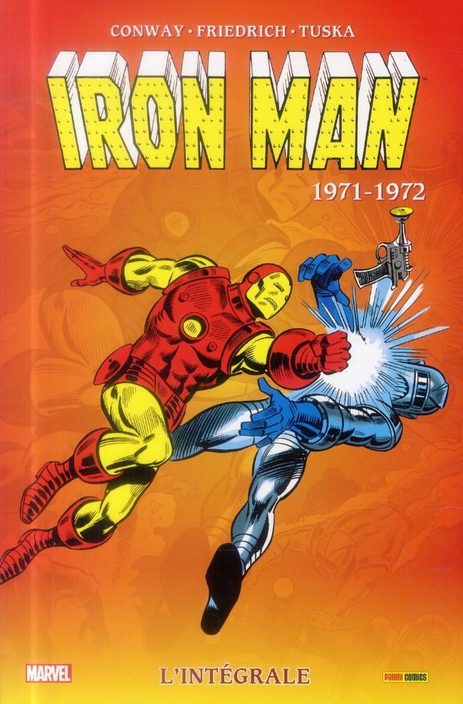 Couverture de Iron Man (L'intégrale) -7- Intégrale 1971-1972